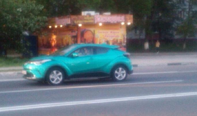 Жители Тольятти увидели на улицах города новейший автомобиль Тойота С-ХР