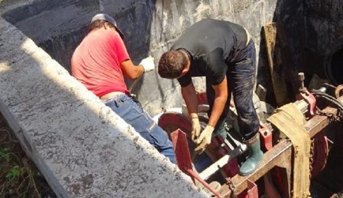 В Шахтах устранили крупную аварию на водоводе