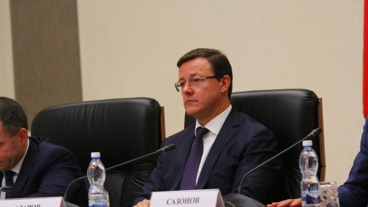 Коридор из ДПС и самарские ВИПы: Дмитрий Азаров вступил в должность врио губернатора