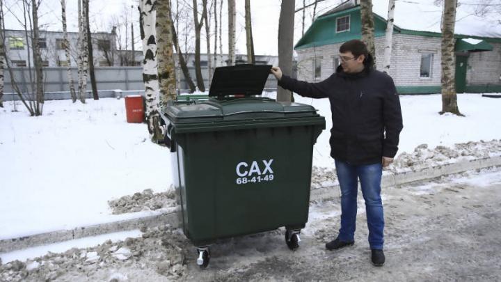 Администрация Архангельска: горожане не умеют пользоваться новыми мусорными контейнерами