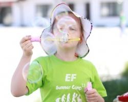 Детский лингвистический лагерь с EF English First
