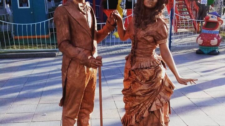На Цветном бульваре все лето будут выступать живые статуи, мимы и клоуны