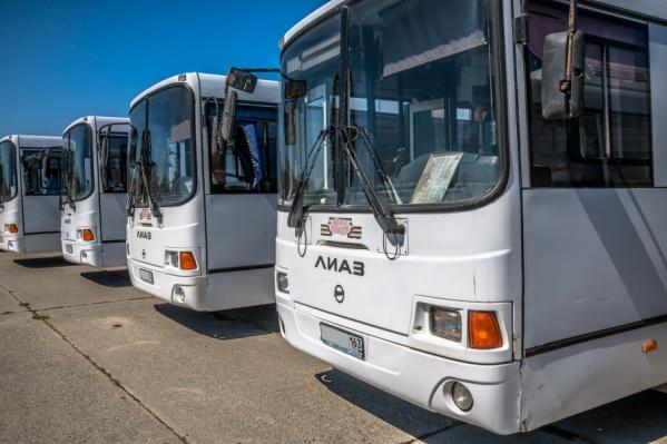 Большие автобусы оставят для популярных маршрутов