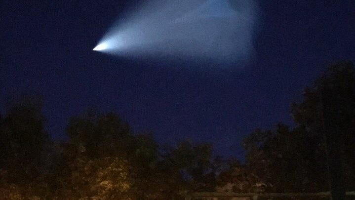 Тольяттинцы сняли на видео необычное небесное явление