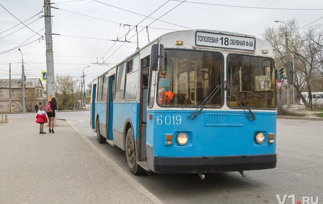 Троллейбуса №18 в Волгограде больше нет