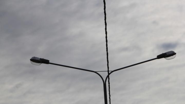На проспекте Обводный канал заработают новые уличные фонари