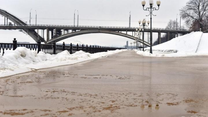 Ярославль и четыре района области подтопит из-за сброса воды в Волгу