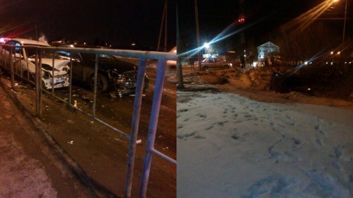 В аварии на Щербакова пострадали два водителя