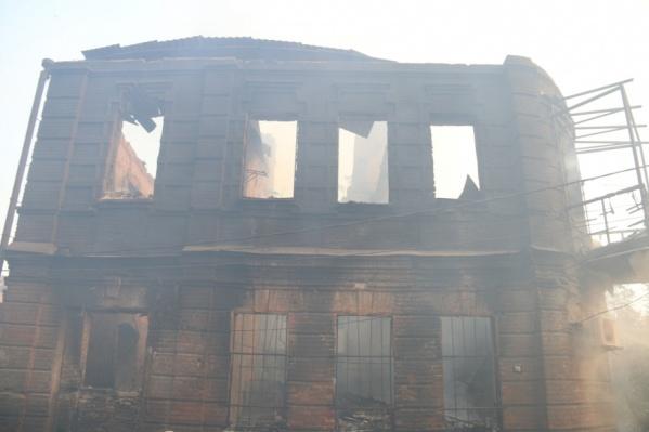 В августе сгорели больше сотни домов