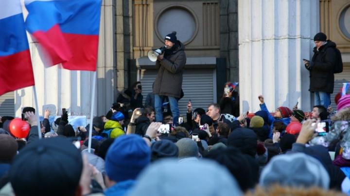 Мэрия: сторонники Навального перегородили вход и выход детям в ДК Литвинова