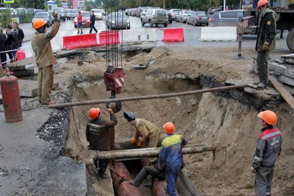 В этом году в Самаре планируют переложить около 10 километров теплотрасс