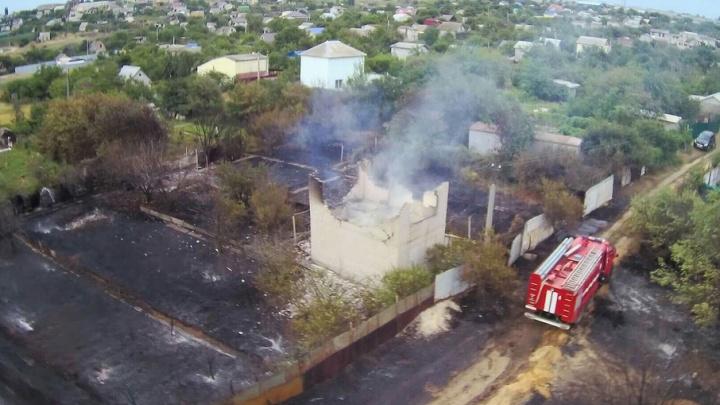 Пожар у Гумрака в Волгограде локализован