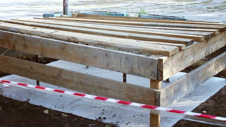 В Самаре отложили установку памятника белочехам
