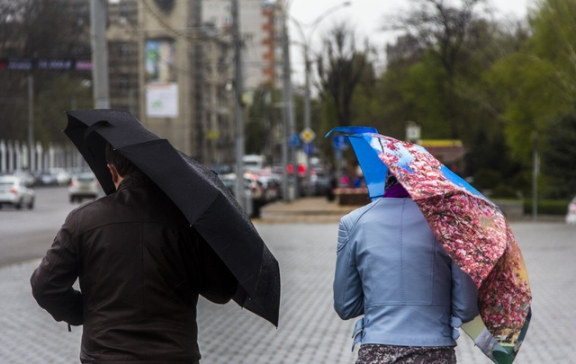 В Таганроге и в Ростове срывается мокрый снег