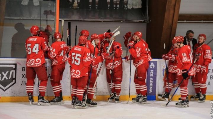 Не собрались: ростовские хоккеисты уступили в первом матче за бронзу