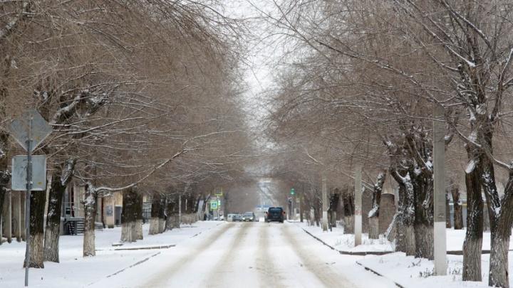 Волгоград встретил утро с нечищенными дорогами