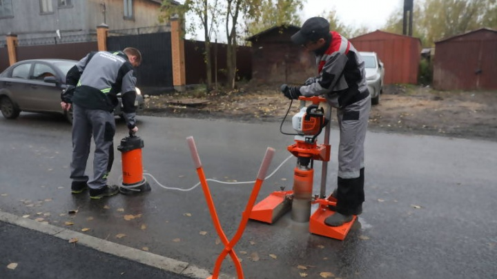 В Архангельске восемь участков отремонтированных дорог прошли контроль качества на отлично