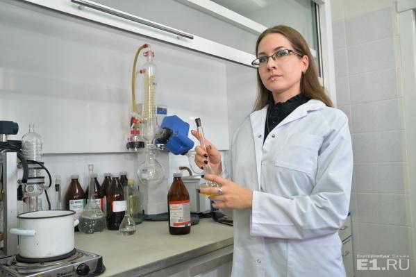 Ирина Сапожникова – молодой учёный, которая впервые синтезировала новый препарат.
