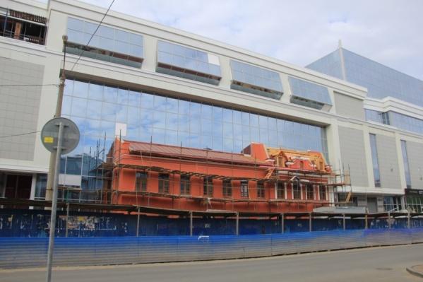 К 2010 году здание было изношено на 88%, восстанавливать его его облик пришлось из новых материалов, исходные не сохранились