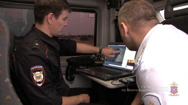 Полиция с квадрокоптеров ищет поджигателей Волгоградской области