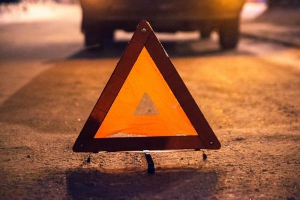 29-летнего пешехода сбил самосвал, груженый песком