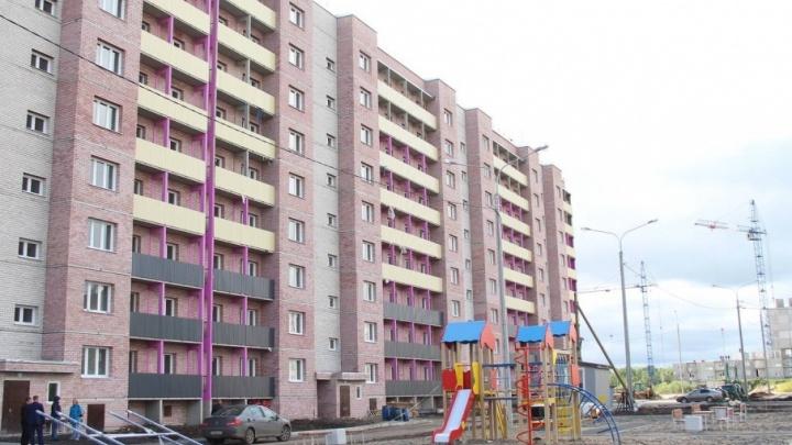 В Майской Горке сдали новый социальный дом на 180 квартир