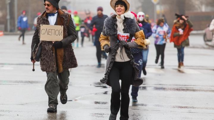 Рождественский карнавальный забег не пустили в центр Волгограда