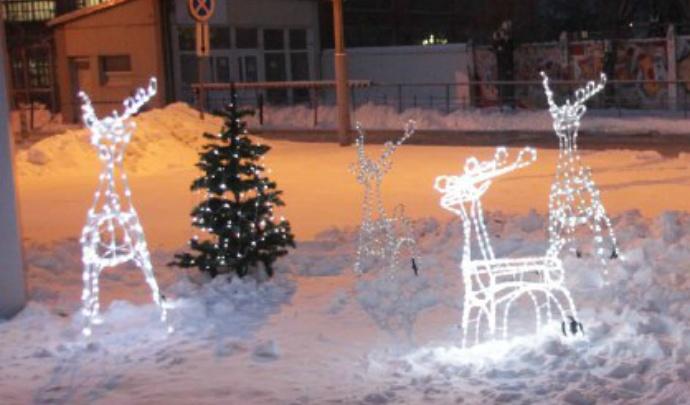 К Новому году Ярославль украсят светящимися скульптурами: где появятся фигуры