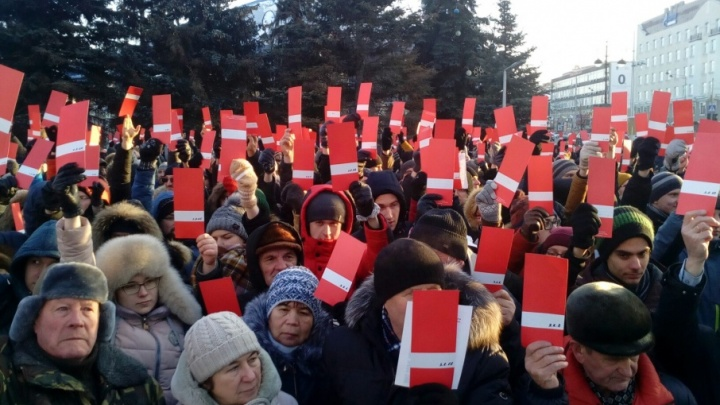 За Навального в Тюмени подписались 616 человек