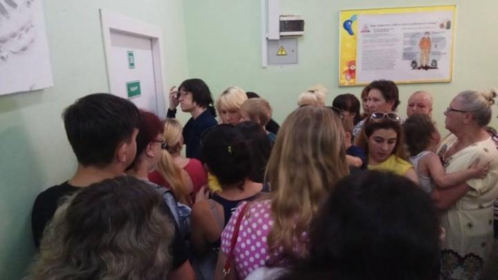 Родители подрались из-за очереди в ярославской поликлинике