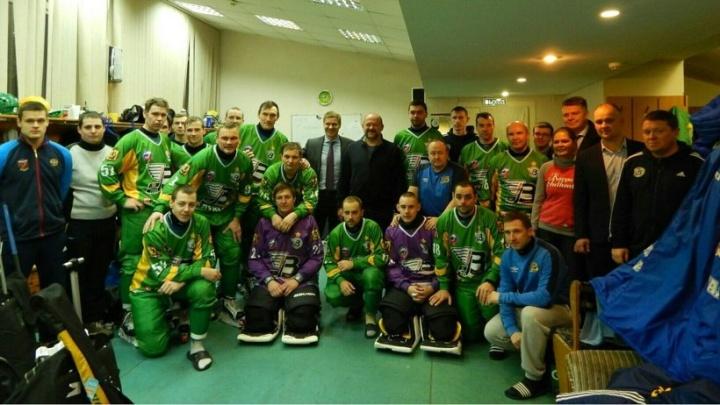 Хоккеисты «Водника» решили вступить в ряды Putin Team