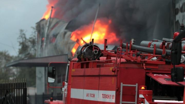 Три человека сгорели в частном доме в Ростовской области