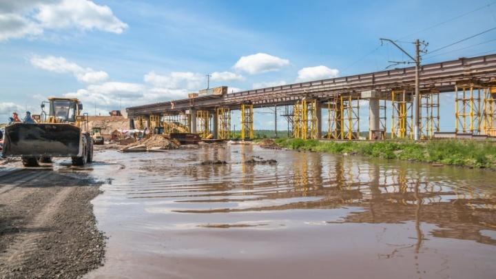Скоростную дорогу до аэропорта Курумоч достроят в ноябре
