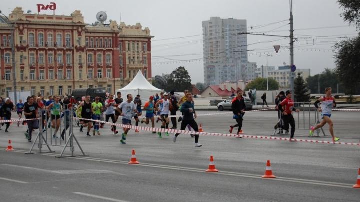 В Ростове перекрыт центр из-за участников «Донского марафона»