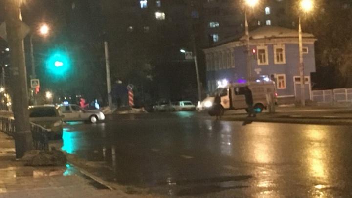 На проспекте Ленина пакет с мусором приняли за бомбу