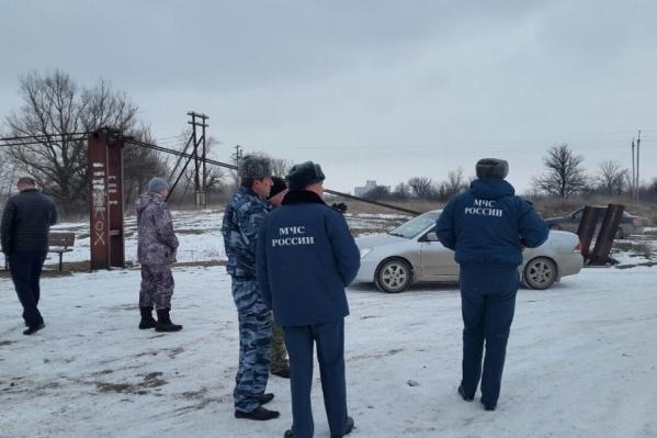 Сотрудники МЧС запустили один беспилотник