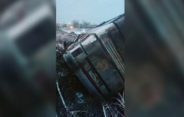 Автобус с пассажирами из Ростовcкой области попал в аварию под Москвой: есть пострадавшие