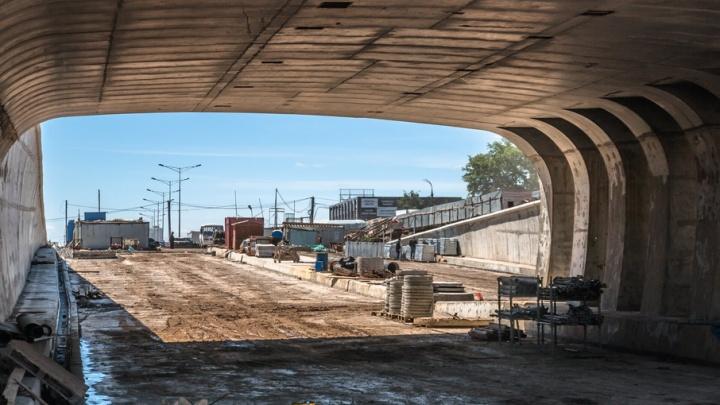 Тоннель на пересечении Московского и Ракитовского шоссе достроят к концу июня