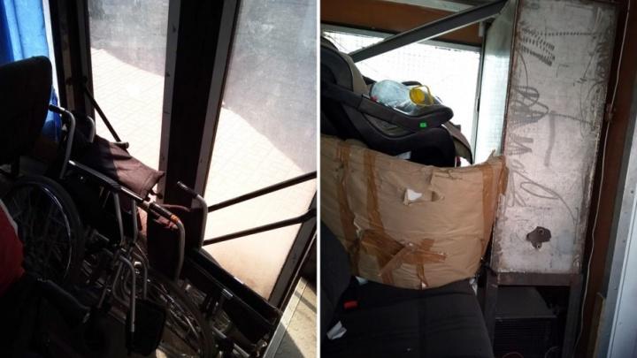 Грязный, опасный и старый: тюменские инвалиды возмутились автобусом, перевозившим их на соревнования