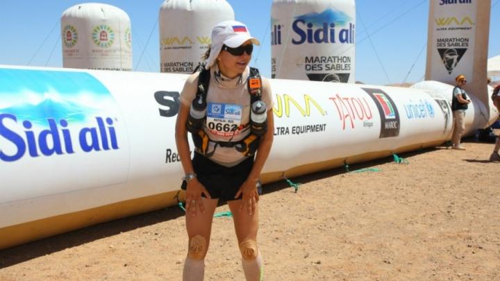 По раскаленным пескам Сахары: пермячка Наталья Седых пробежит ультрамарафон в Марокко