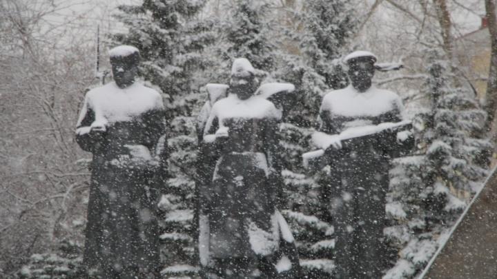 В воскресенье в Архангельской области ожидается снегопад и гололед