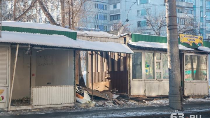 Остались без шаурмы и пирожков: в Самаре ликвидировали более 50 ларьков и павильонов