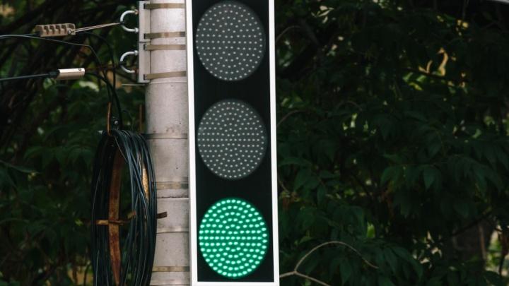 Светофоры на перекрестке проспекта Кирова и улицы Победы поставят в течение двух месяцев