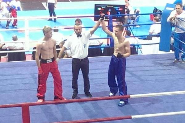 15-летний школьник победил спортсмена из Финляндии.