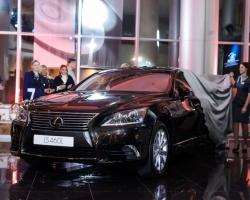 «Лексус-Пермь» представил флагман модельного ряда Lexus