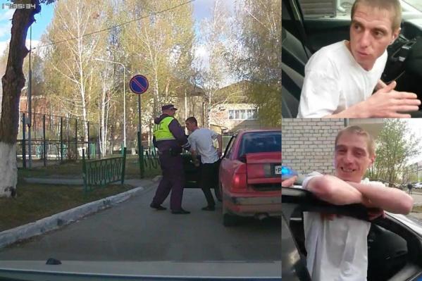 Пьяный тюменец не только сел за руль, но и взял с собой пассажиров – своих маленьких сыновей