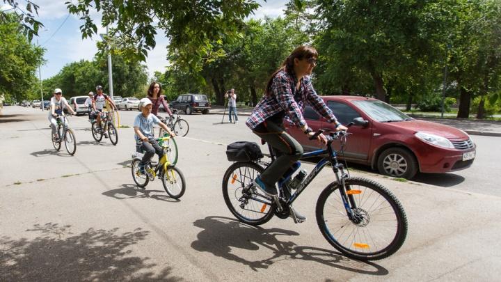 Семь километров велодорожек появится в Советском районе Волгограда