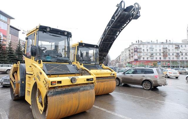 В Перми к майским праздникам отремонтируют Октябрьскую площадь