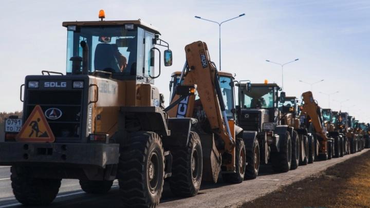 К зиме готовы: город купил соль для посыпки тюменских дорог и увеличил парк снегоуборочной техники