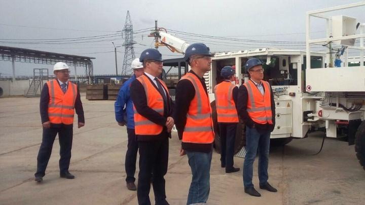 Шахтные стволы Гремячинского ГОКа будут снабжены современным оборудованием